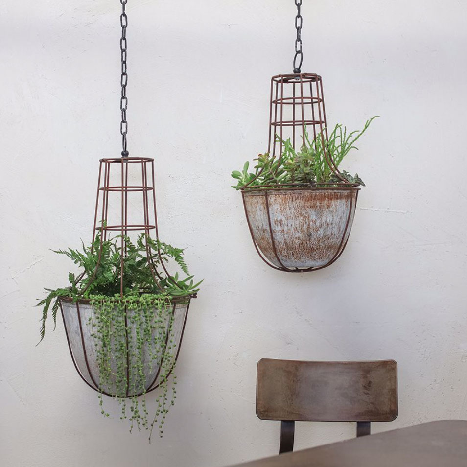 Shopping: Look Skyward – hanging planters, lanterns and mobiles