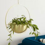 Crolla-hanging-planter-in-brass,-£39,-Made