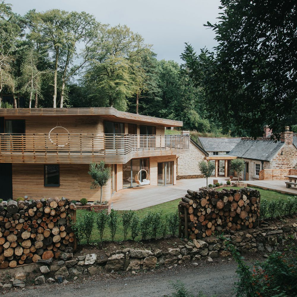 The woodland masterpiece of Tom and Danielle Raffield