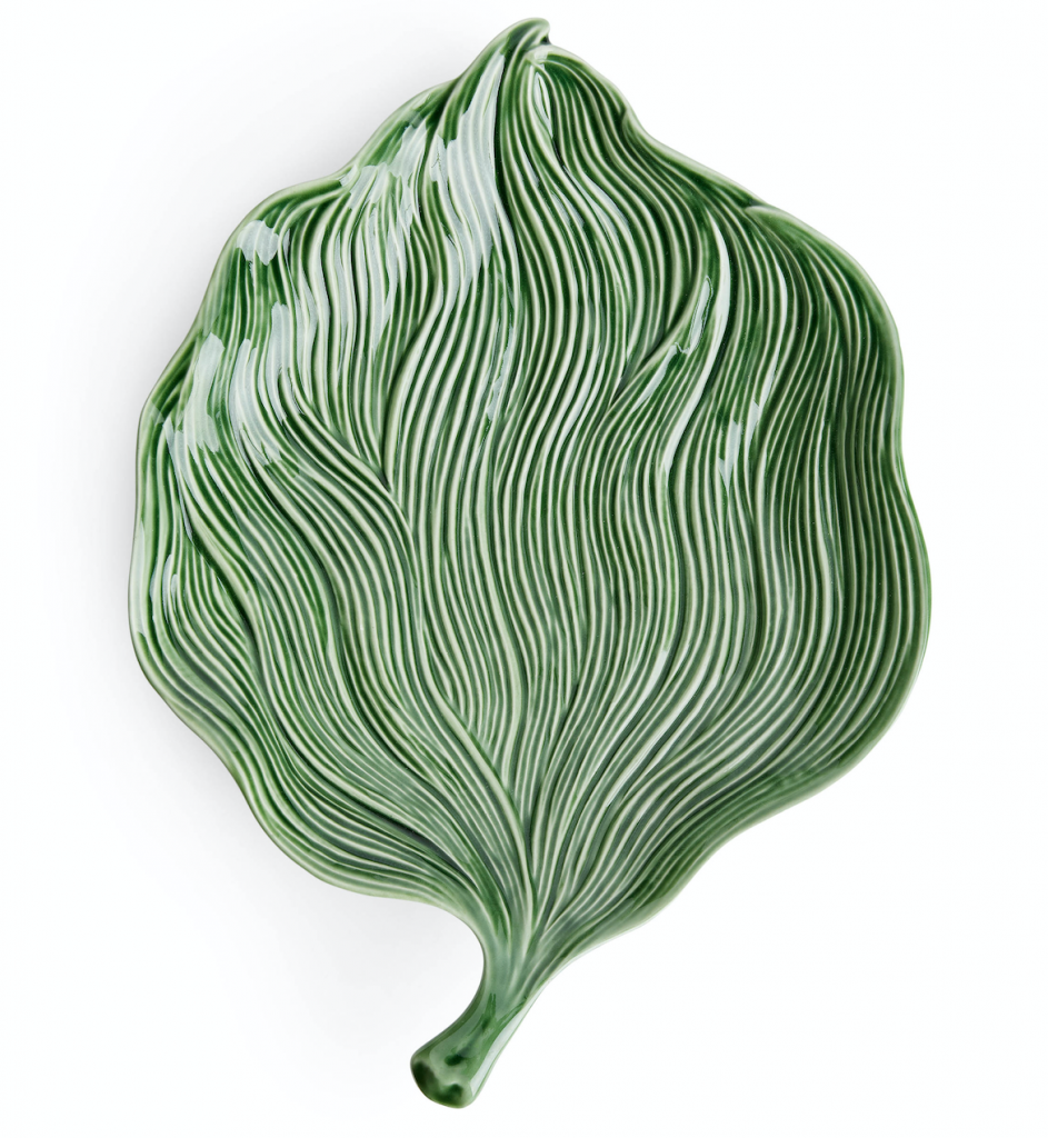 Bordallo Pinheiro Platter, £37, Arket