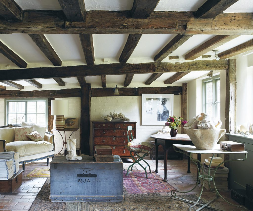 Farrow and Ball Living-With-Colour-cottage living room