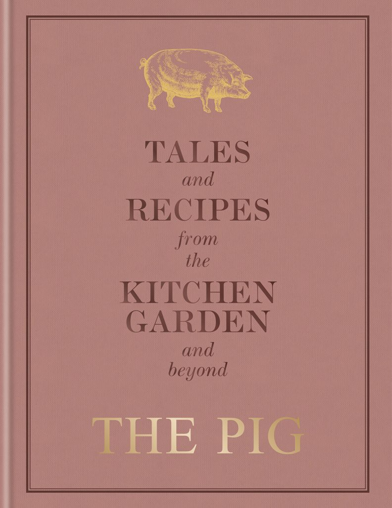 Tales and Recipes from the Kitchen Garden and beyond, The Pig, book jacket