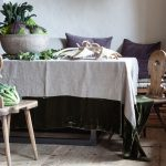 Velvet tablecloth, from 460Eur, Once Milano