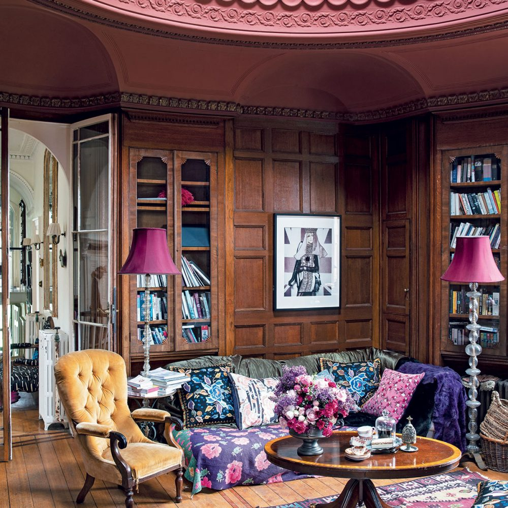 Fashion designer Alice Temperley's Romantic Somerset Home
