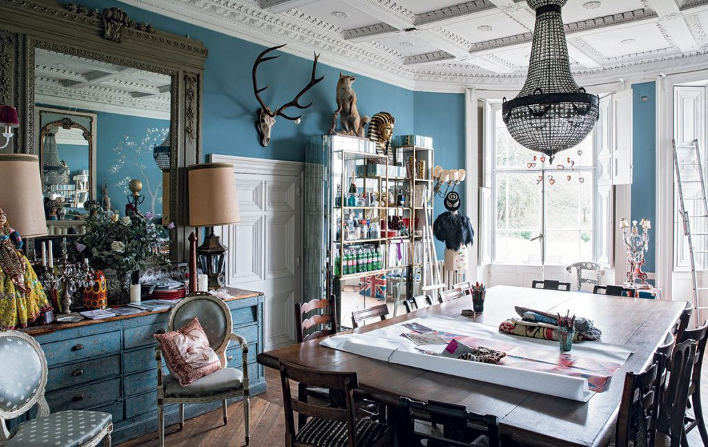 Fashion Designer Alice Temperley S Romantic Somerset Home The Home Page