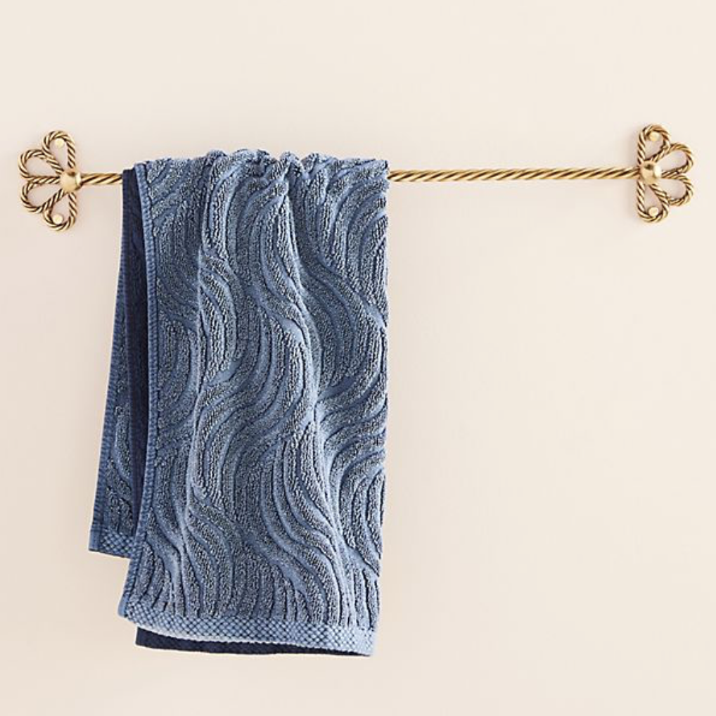 Francis towel bar, £48, Anthropologie