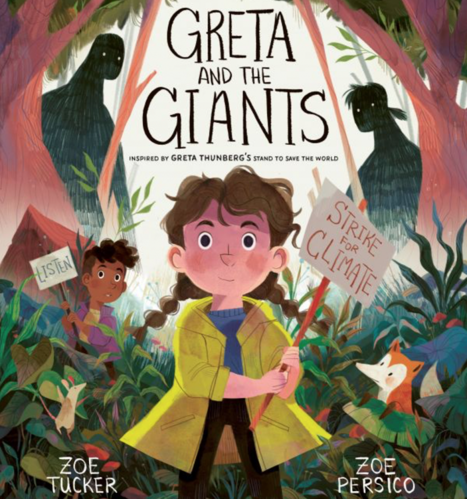 Greta and the Giants book by Zoe Tucker and Zoe Persico, £5.24, Amazon