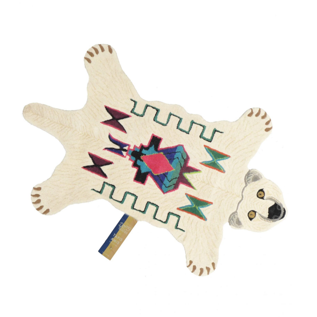 Kasbah polar bear rug, from 90Euro, Doing Goods