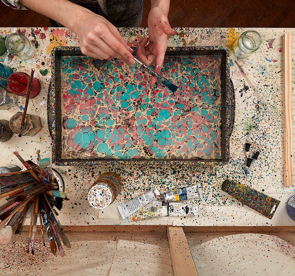Rediscovering the Lost Art of Marbling
