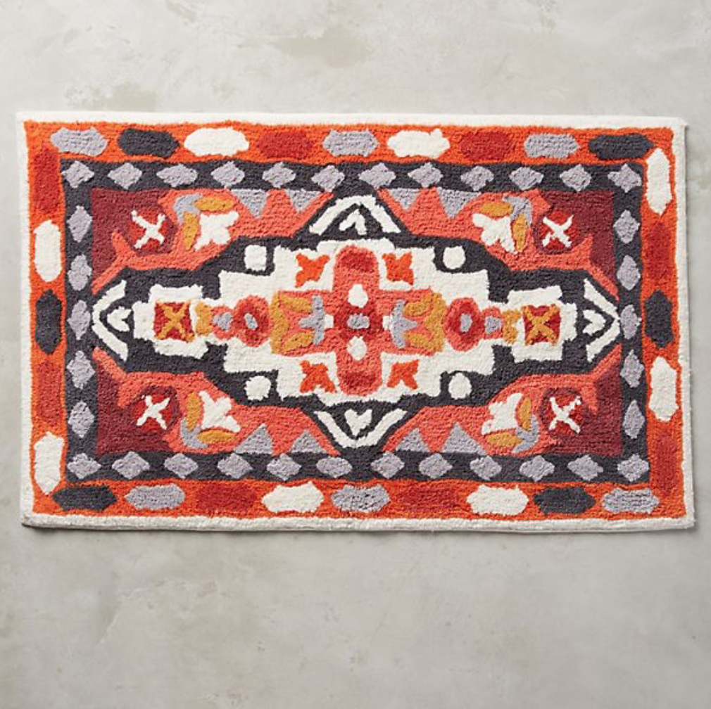 Risa bath mat, £48, Anthropologie
