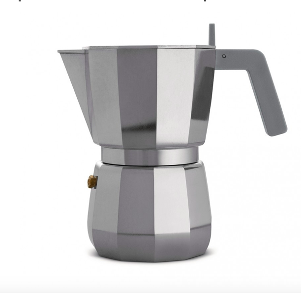 Moka Espresso Coffee Maker 6 Cup, designed by David Chipperfield for Alessi, The Conran Shop, £38
