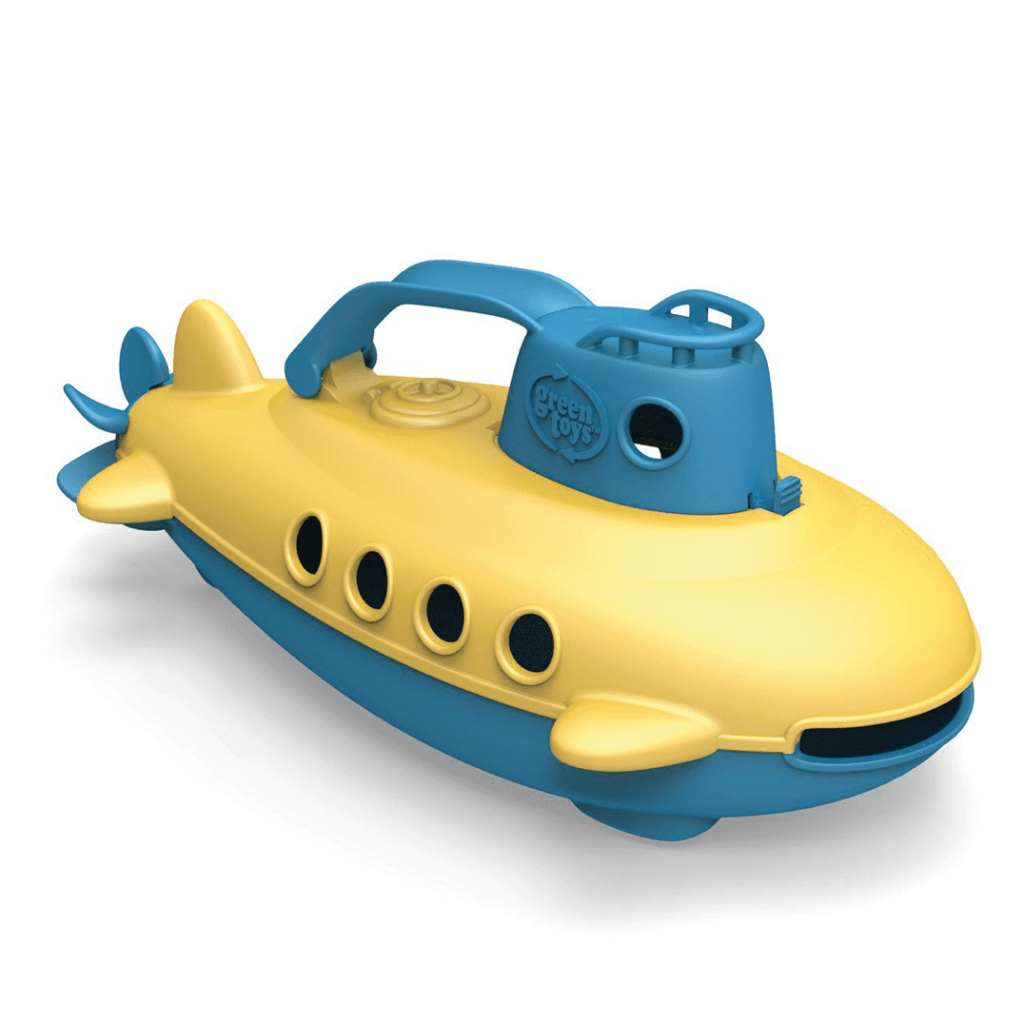 Submarine toy (made from recycled milk cartons), £11.49, Green Toys