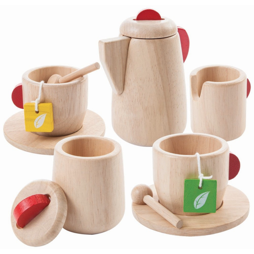 Wooden tea set, £29.95, Plan Toys