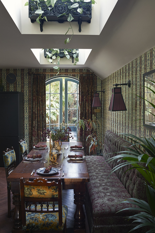 House of Hackney dining room