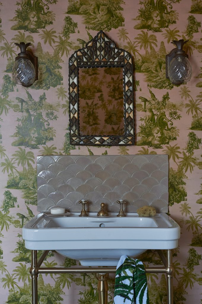 House of Hackney upstairs bathroom
