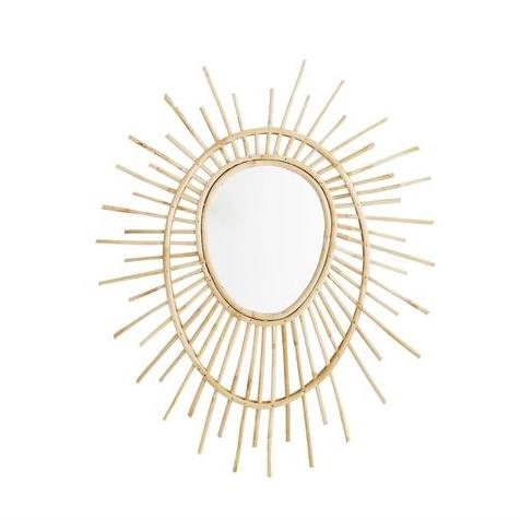 Bamboo Starburst Mirror, £75,  Design Vintage