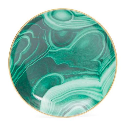Limoges porcelain malachite small dish, £35, L'Objet at Liberty London