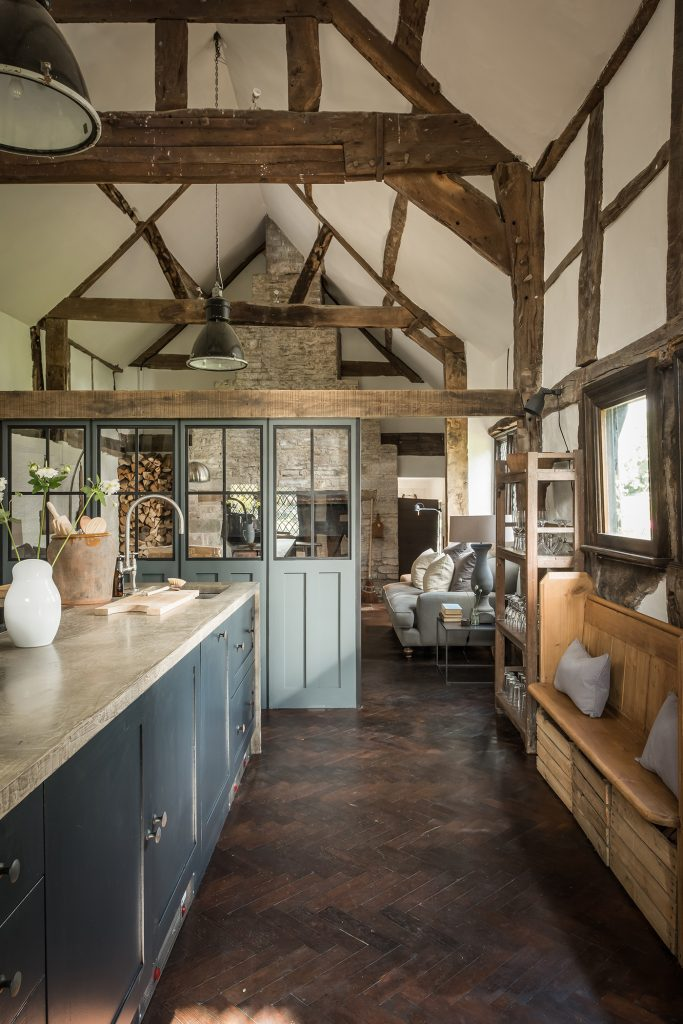 Hollyhocks kitchen © Unique Homestays, Mark Watts Photography