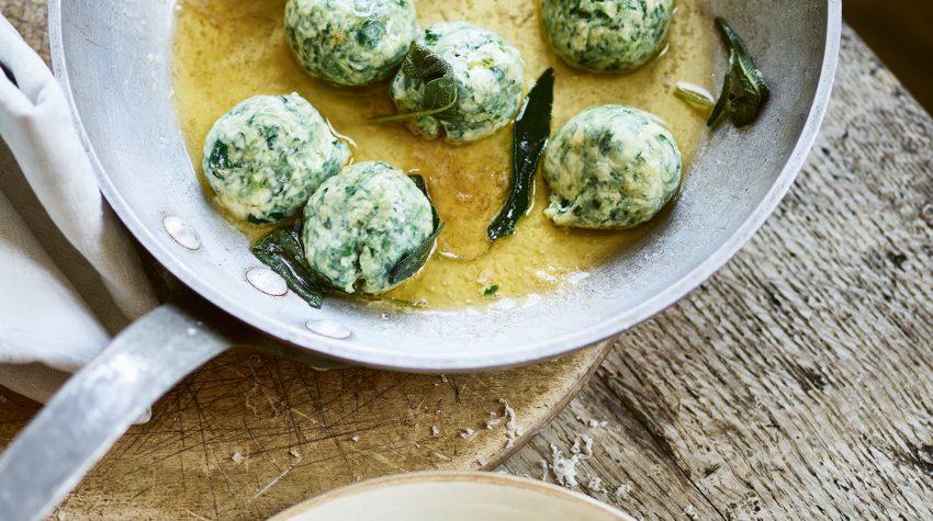 Rosa's Spinach Ricotta Gnudi Pasta Grannies
