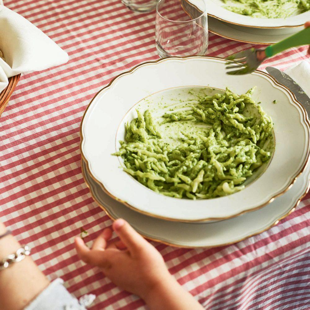 Pasta Grannies: Rosetta's Trofie with Basil Sauce