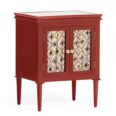 Livia Bedside Cabinet, Pomegranate, Pome! by Ceraudo