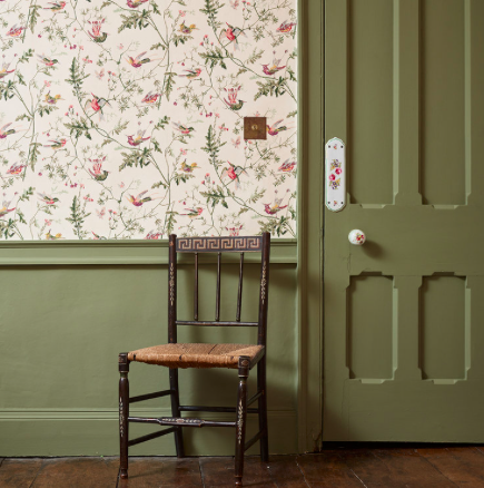 Drab Green paint by Edward Bulmer