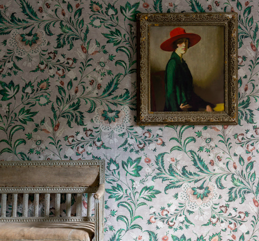 Coromandel wallpaper in Malachite by Lewis & Wood