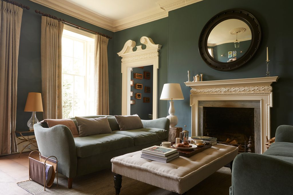 The Rectory Hotel Crudwell Cotswolds  Drawing Room