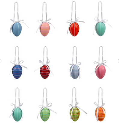 Easter decorations set of 12, John Lewis