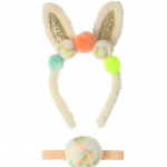 Pompom bunny ear dressing up set, Meri Meri, Cottage Toys