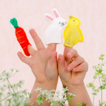 Easter felt finger puppets, Not on the High Street