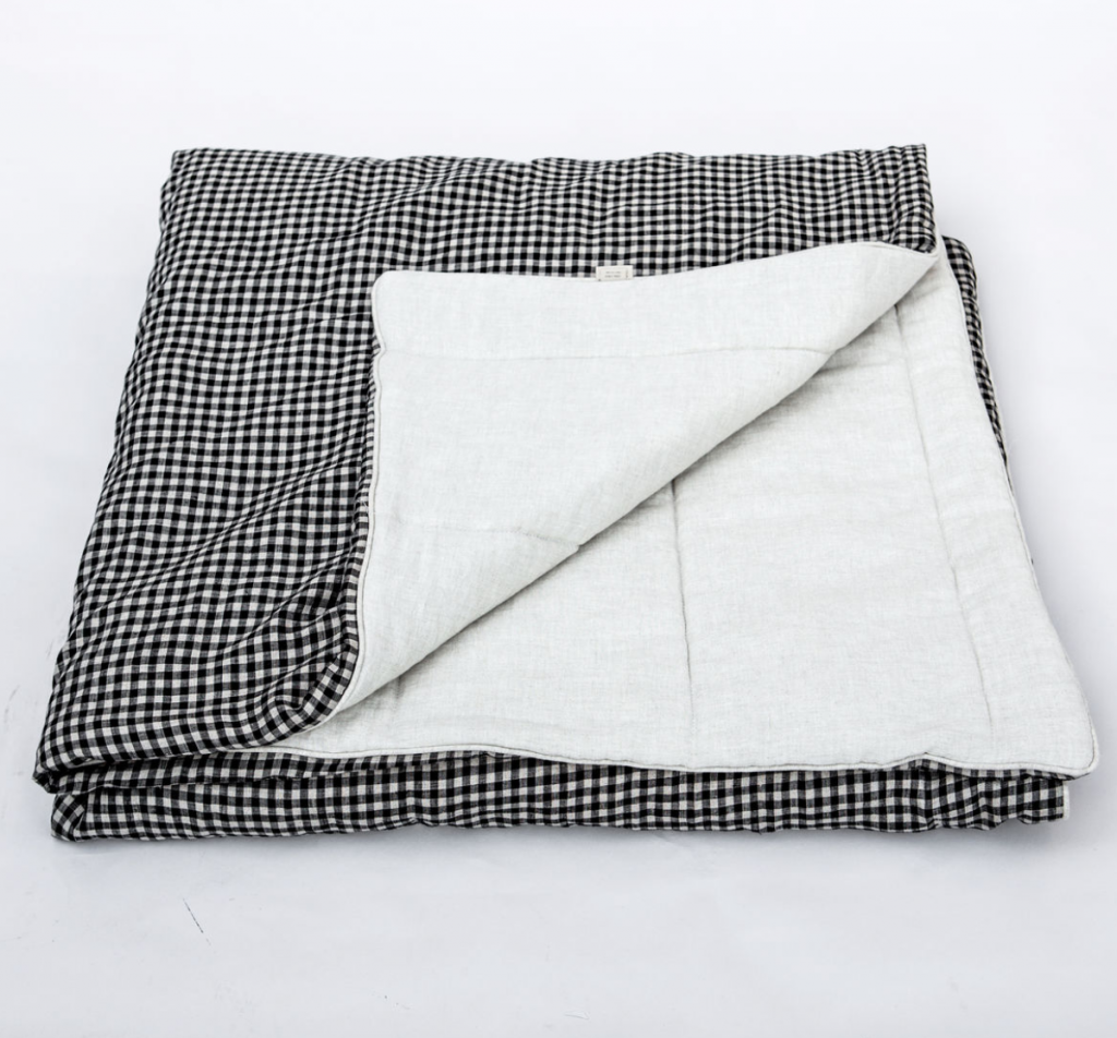 Checked linen blanket, 380Eur, Once Milano