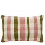 Gingham Chindi cushion, £80, Liberty