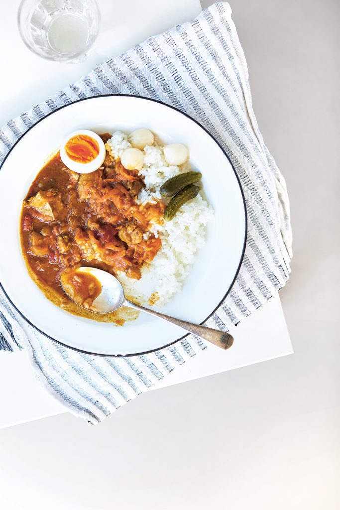 Japanese-Style Curry from Japanese Food Made Easy by Aya Nishimura © Lisa Linder