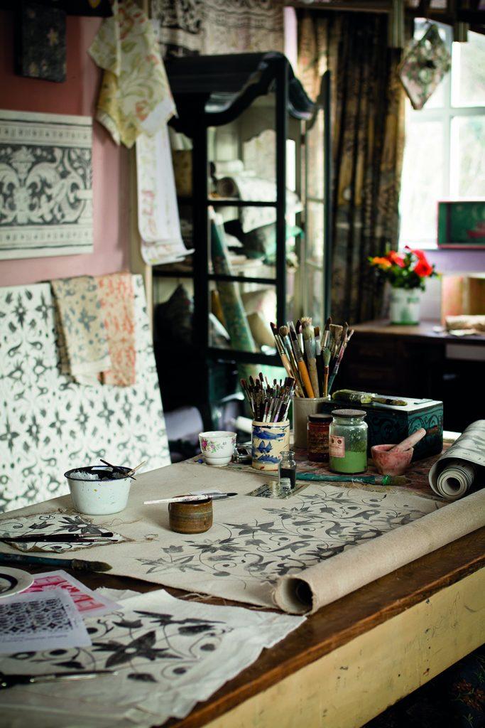 Melissa White's studio in Hastings