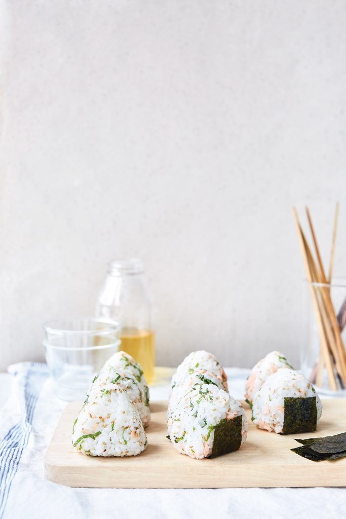 Ongiri (Rice Balls) from Japanese Food Made easy by Aya Nishimura © Lisa Linder
