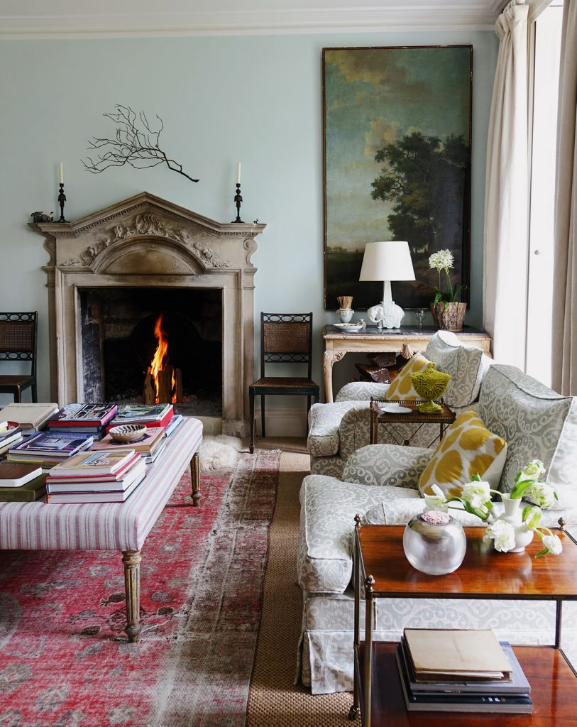 Sitting Room from 'A Place Called Home' by Cath Kidston © Christopher Simon Sykes