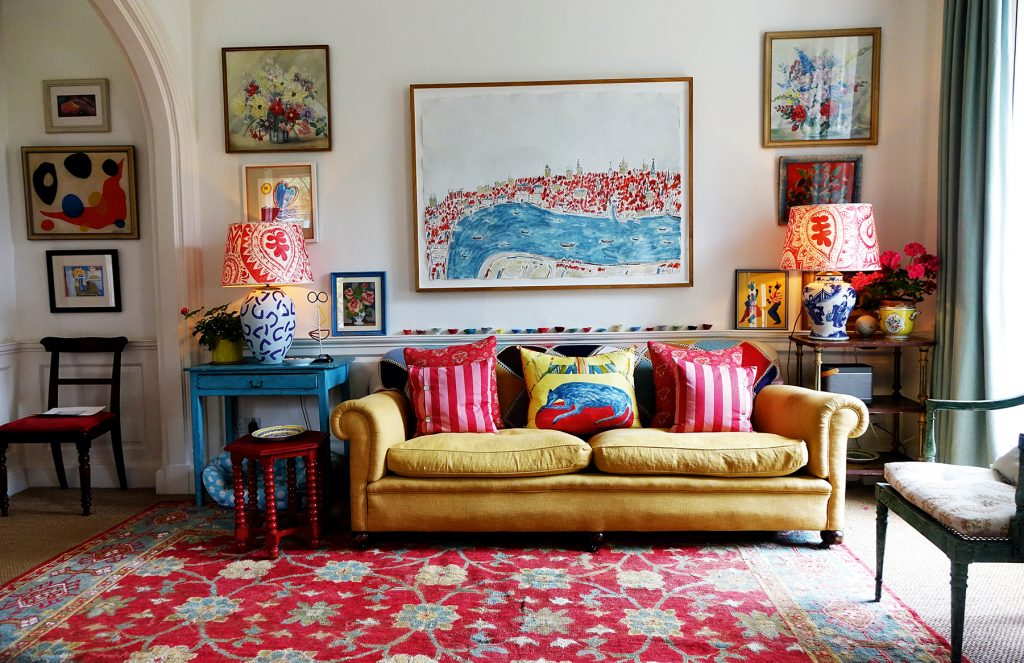 Telly Room 'A Place Called Home' by Cath Kidston © Christopher Simon Sykes