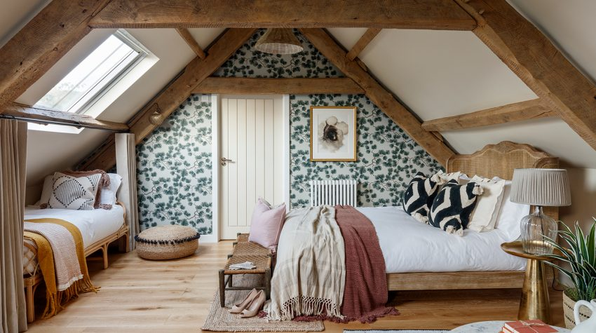 Anthology Farm family bedroom © Philip Durrant