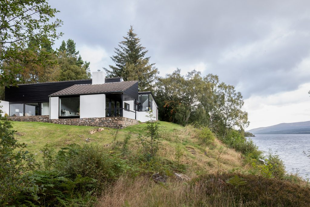 Elemental holiday rental Pitlochry Scotland ©Unique Home Stays