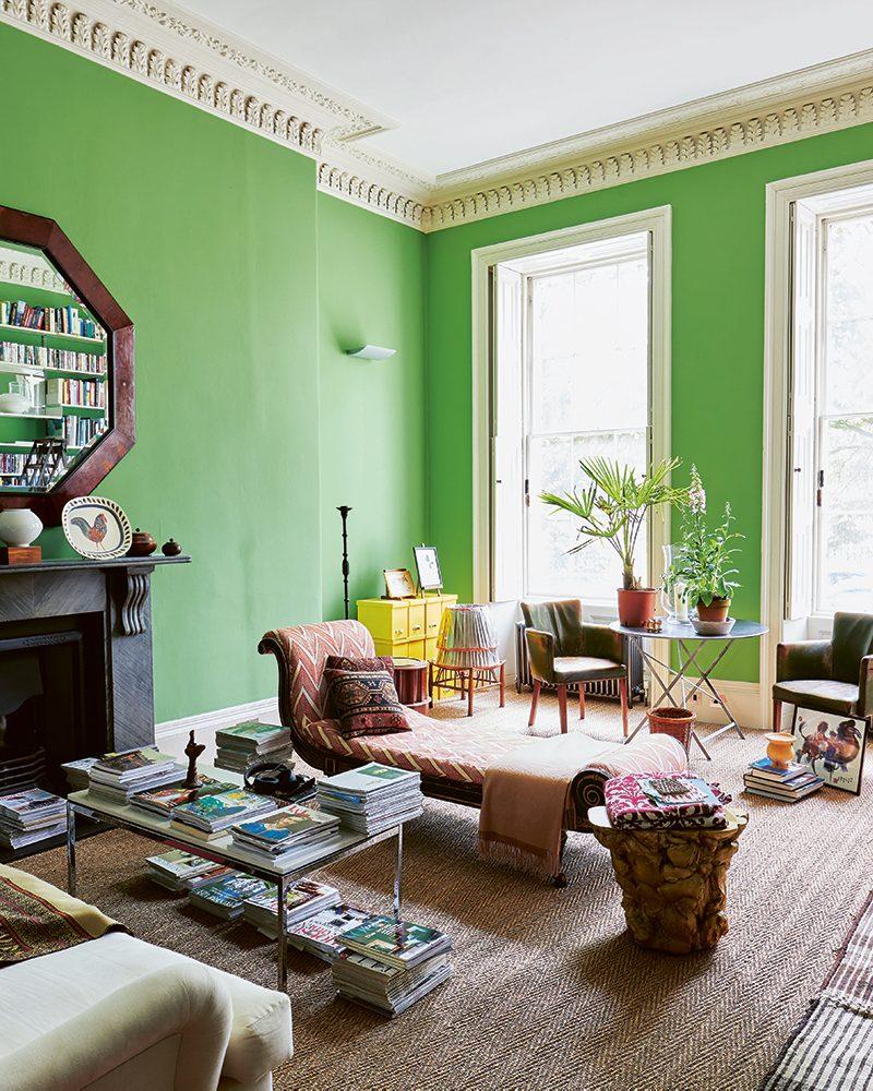 Emilio Pimentel-Reid living room 2 Bold British Design ©Sarah Hogan