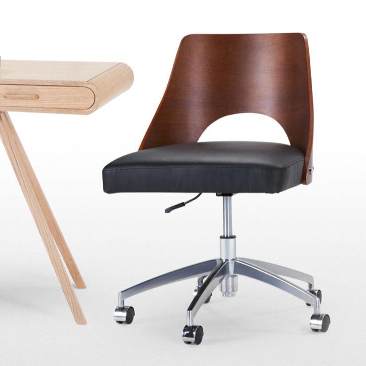 Hailey-swivel-office-chair,-£149,-made.com