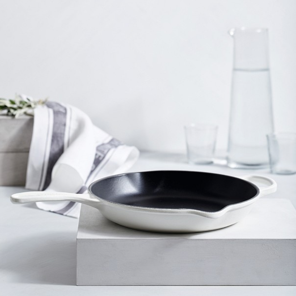 Le Creuset Skillet, £125, The White Company