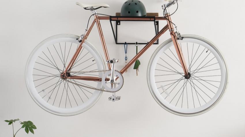 Lomond wall mounted bike stand, £49, made.com