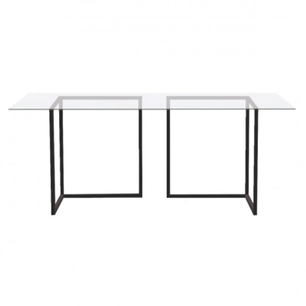 Nic-glass-and-metal-trestle-desk,-£260,-Habitat