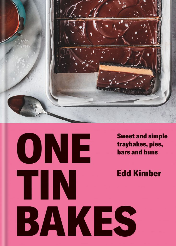 One Tin Bakes by Edd Kimber book jacket
