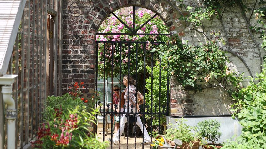 Petersham Nurseries garden