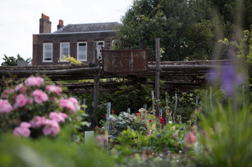 Petersham Nurseries garden cafe