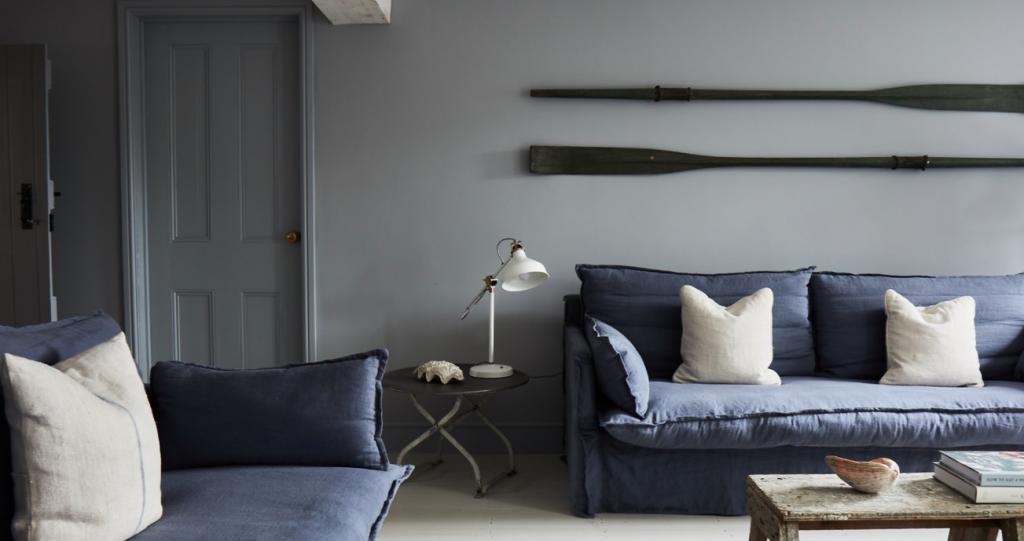 Eden Hall Norfolk living room