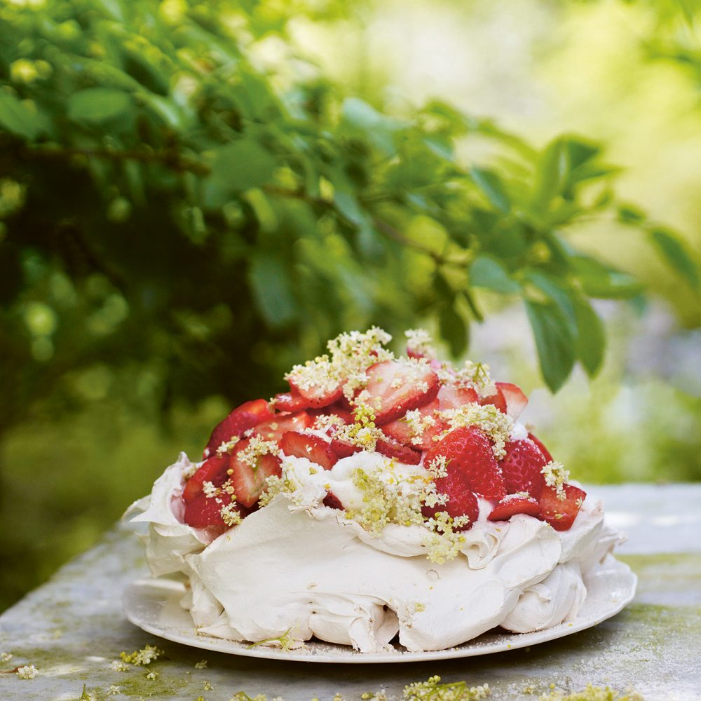 Gill Meller's Strawberry, Lemon & Elderflower Meringue